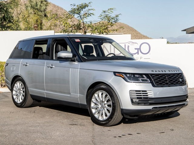New 2020 Land Rover Range Rover Base With Navigation & 4WD