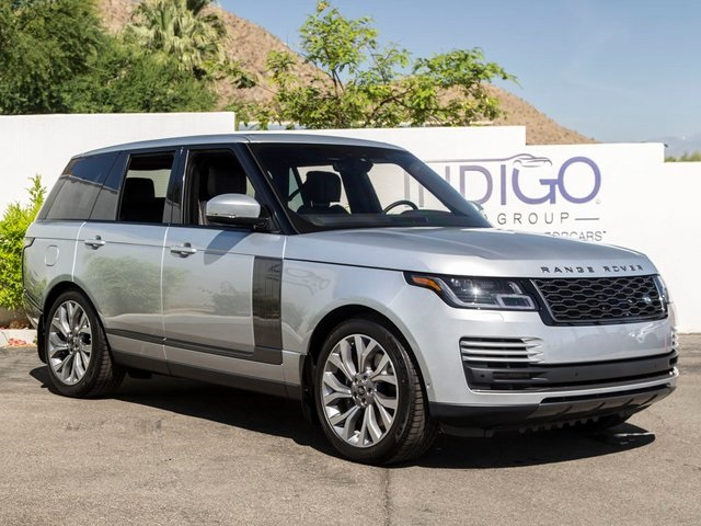 New 2019 Land Rover Range Rover 3.0L V6 Supercharged HSE Service Loaner