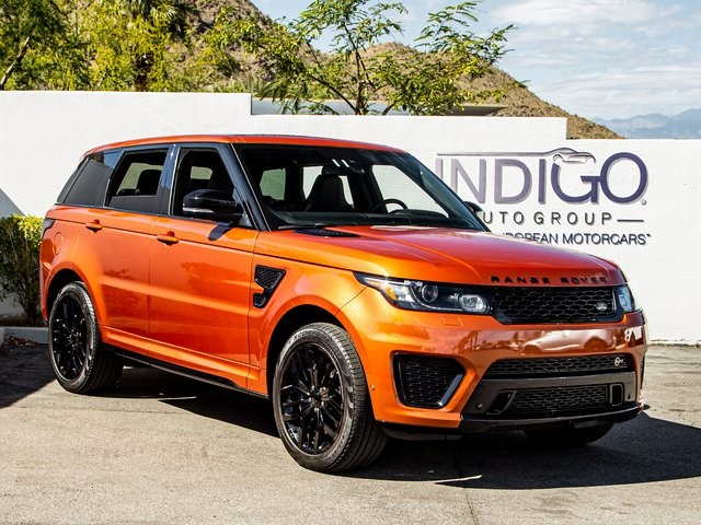 Certified Pre-Owned 2015 Land Rover Range Rover Sport 5.0L V8 Supercharged SVR