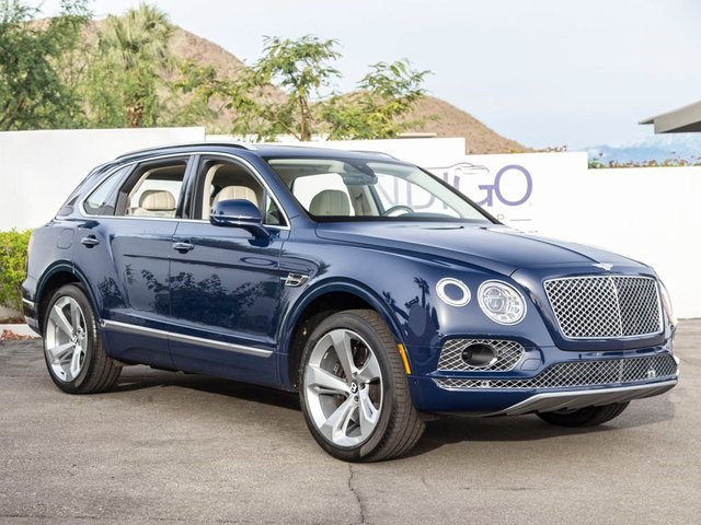 Pre-Owned 2018 Bentley Bentayga W12