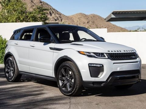 New 2019 Land Rover Range Rover Evoque Landmark Edition Service Loaner