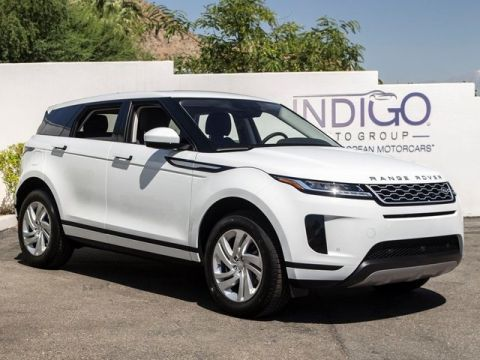 New 2020 Land Rover Range Rover Evoque S Service Loaner