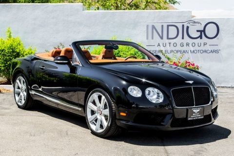 Pre-Owned 2014 Bentley Continental GT Convertible
